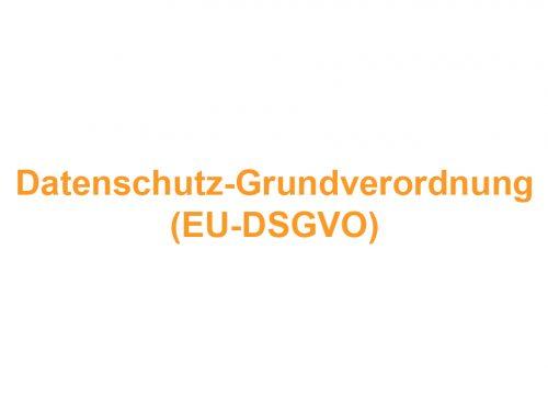 DSGVO – Wichtige Info