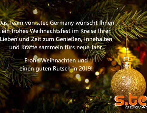 s.tec wünscht frohe Weihnachten